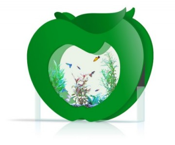 Decoration Aquarium Rond Pomme