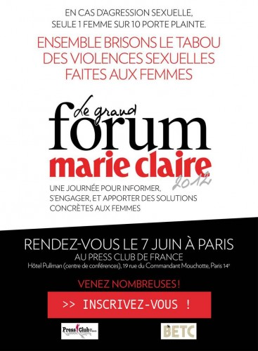 grand forum marie claire
